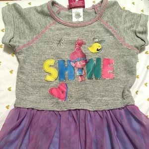 Other - Dreamworks Trolls toddler dress- preowned